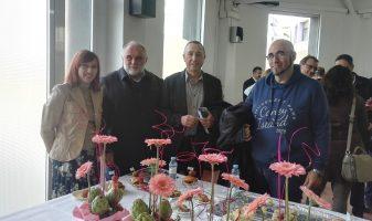 Amb el senador Jordi Navarrete i els regidors Marta Escudero i Ximo Bueno