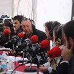 """Un moment de la entrevista per al programa """"Mistela&Política"""""""