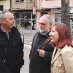 Amb els regidors Marta Escudero, Ximo Bueno i Josep Barberà
